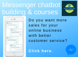 Chatbot and Messenger Marketing Courses banner on Expats in Spain