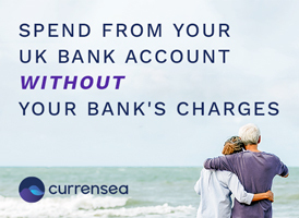 Currensea Currency Exchange banner on Expats in Spain