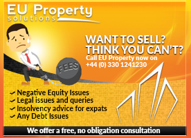Negative Equity, Insolvency, Sell your home in Spain