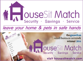 House Sit Match banner on Expats in Spain